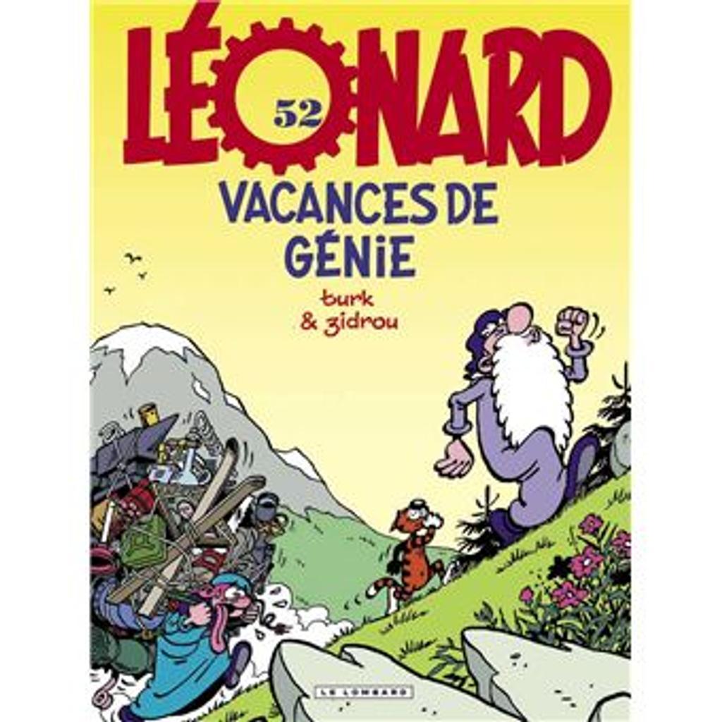 Léonard Tome 52 - Album Vacances de génie |