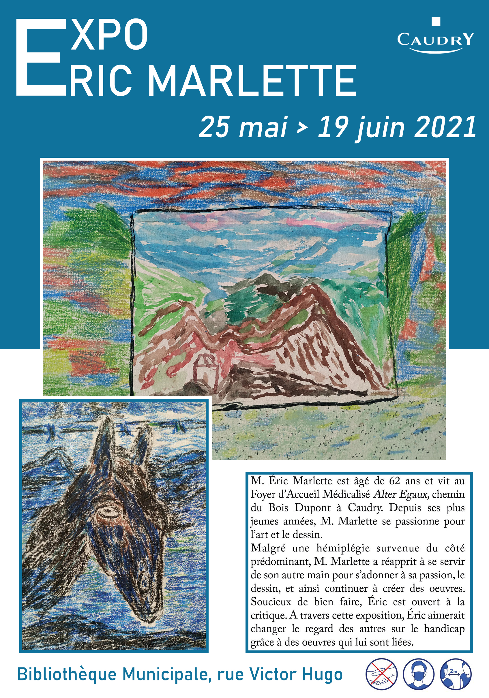 Exposition Eric Marlette |
