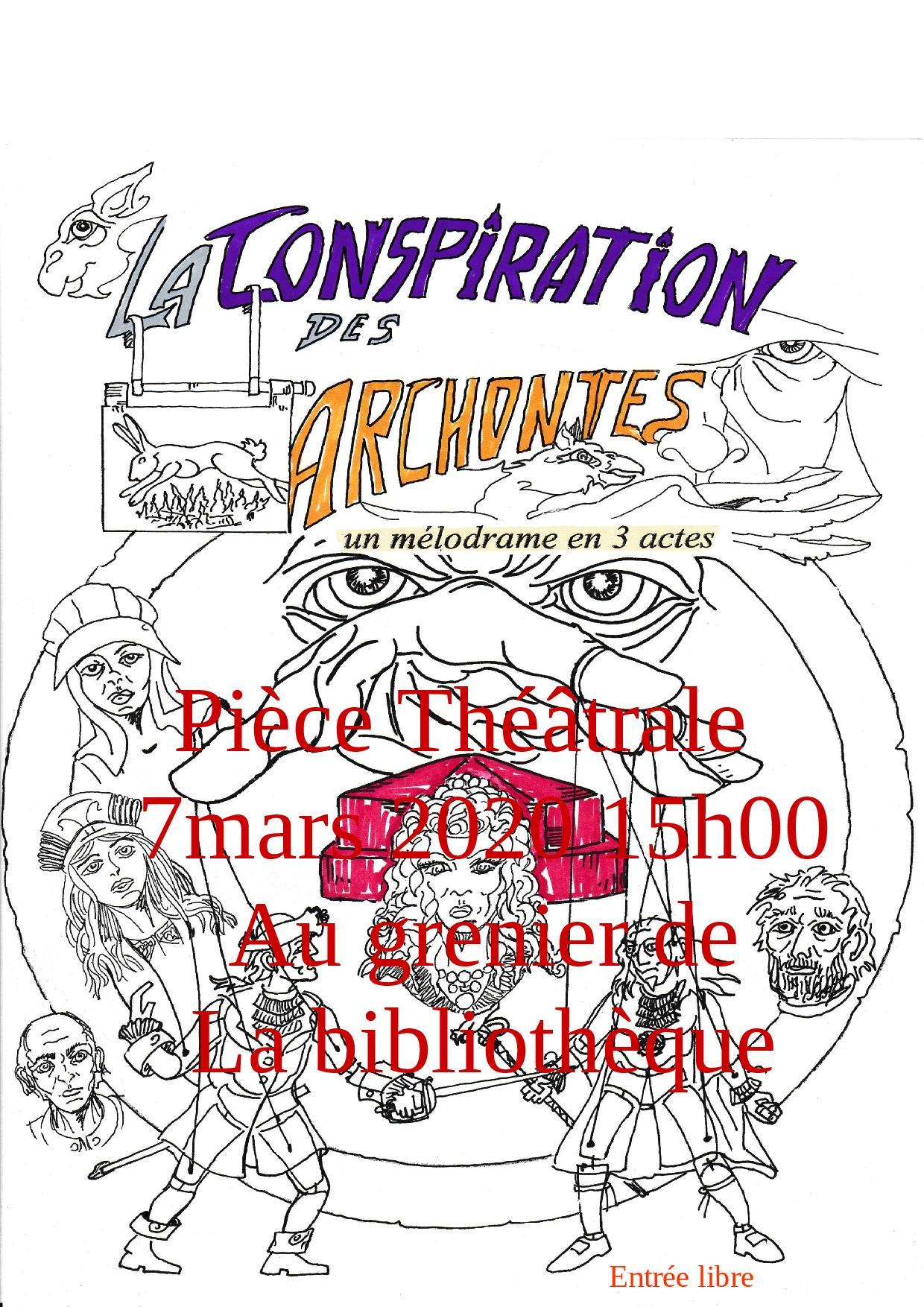 LA CONSPIRATION DES ARCHONTES |