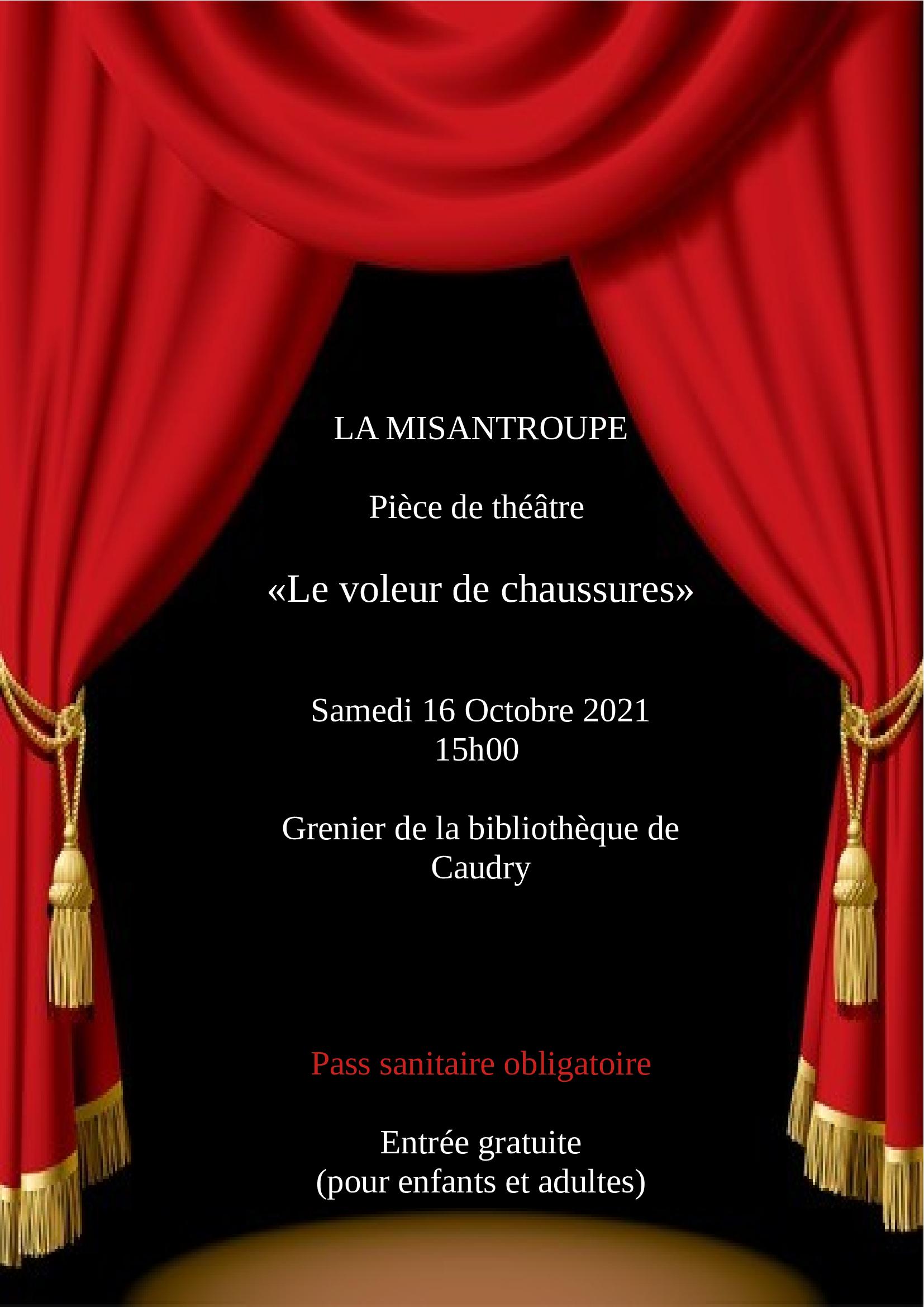 LE VOLEUR DE CHAUSSURES  (La Misantroupe)  